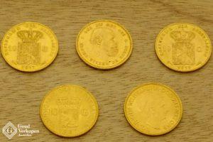 gouden munten verkopen